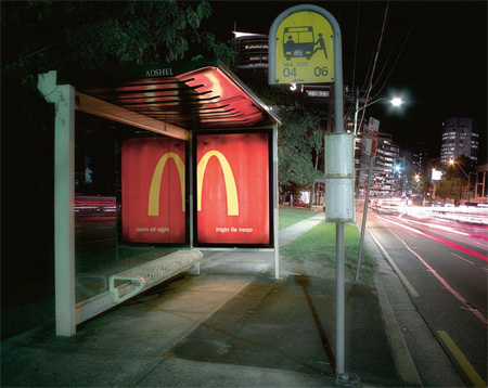 McDonald's Bus Shelter